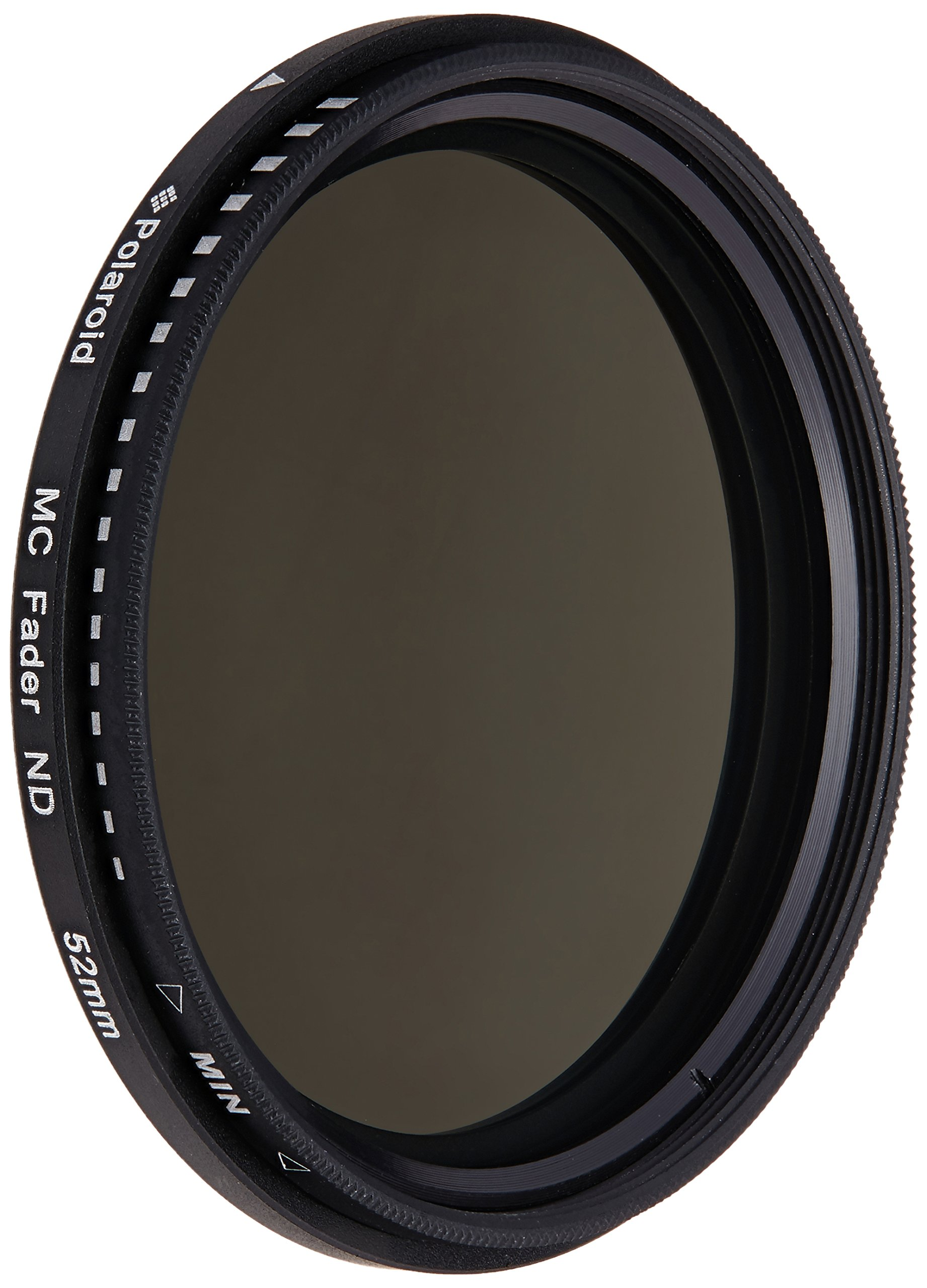 Polaroid Optics 52mm HD Multi-Coated Variable Range (ND3, ND6, ND9, ND16, ND32, ND400) Neutral Density (ND) Fader Filter - 6 Filters in 1! by Polaroid