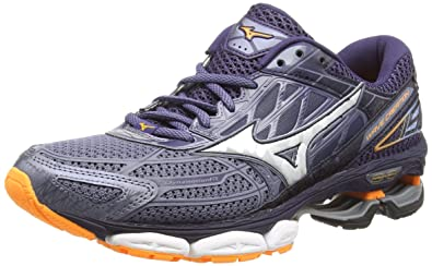 Mizuno Men s s Wave Creation 19 Running Shoes Grey  (Folkstonegray Silver Eclipse ... 5d9a447d76f