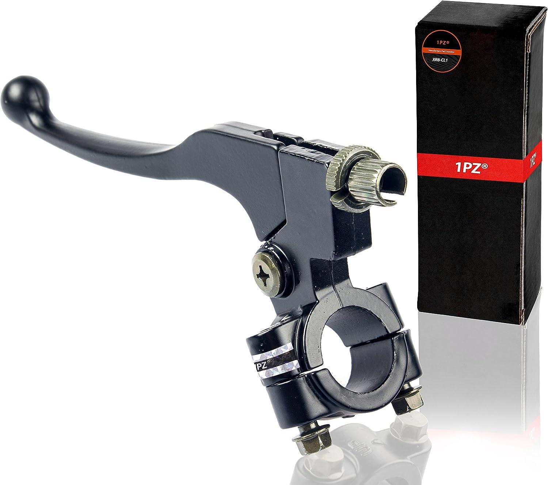 1PZ XR8-CL1 LEFT Black Motorcycle Clutch Brake Handle Lever Perch For Honda Pit Dirt Bike CRF XR 80 100