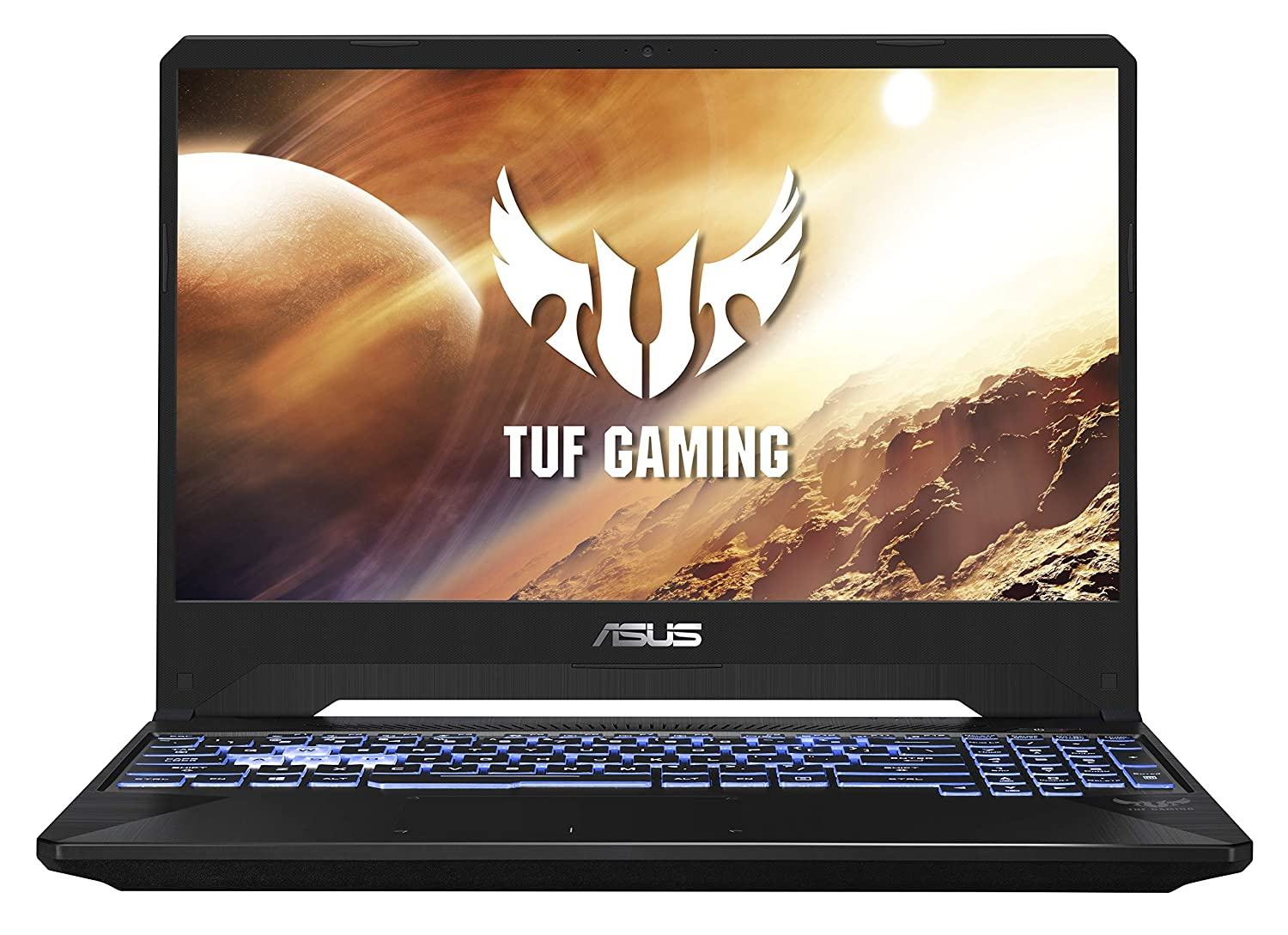 ASUS TUF Gaming FX505DT 15.6-inch FHD Laptop, Ryzen 5 3550H, GTX 1650 4GB GDDR5 Graphics (8GB RAM/1TB HDD + 256GB NVMe SSD/Windows 10/Stealth Black/2.