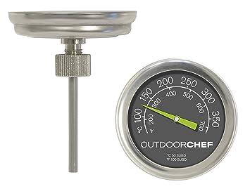 Outdoorchef 18.211.66 - Termómetro para barbacoas
