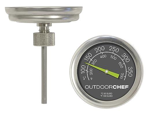 Weber Elektrogrill Mit Thermometer : Outdoorchef grillzubehör thermometer schwarz cm