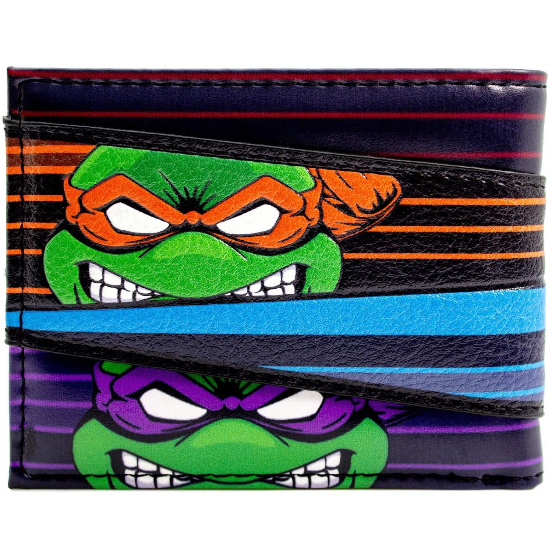 Cartera de Teenage Mutant Ninja Turtles Equipo enojado Caras ...