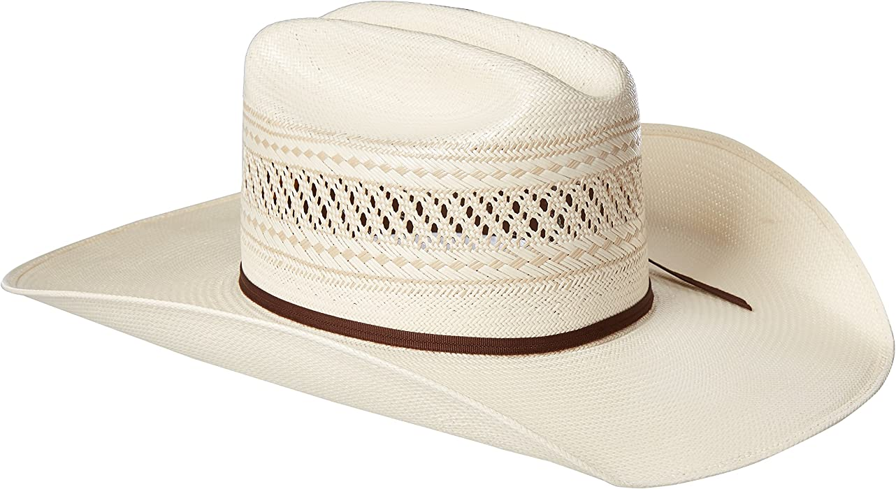 7b493056821 ARIAT Men s 20x Tan Insert Double S Cowboy Hat