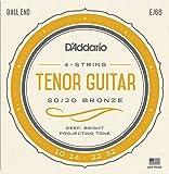 D'Addario Cordes pour guitare ténor ej66