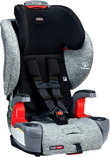 Britax USA Grow with You ClickTight Harness-2-Booster Car Seat - 2 Layer...