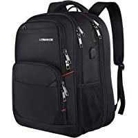 "LTINVECK 17.3"" Extra Large Capacity Travel Laptop Backpack"