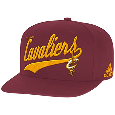 e9895f49215 Image Unavailable. Image not available for. Color  NBA Cleveland Cavaliers  Men s Tail Sweep Flat Brim Snapback Hat