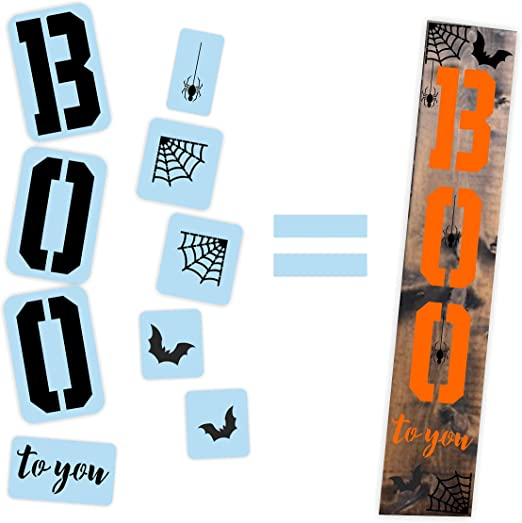Amazon.com: Estrella de granero para Halloween Boo to You ...