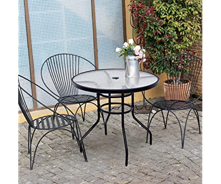 Tangkula Outdoor Patio Table 32 inches