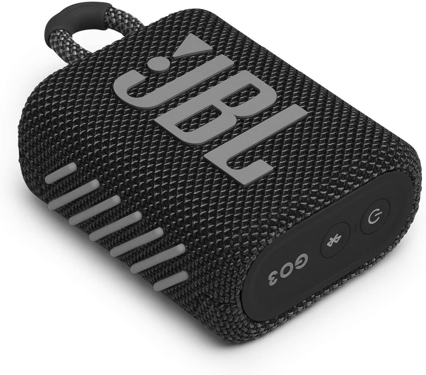 Black JBL Go 3: Portable Speaker with Bluetooth Waterproof and Dustproof Feature Built-in Battery