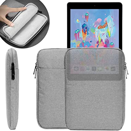 eae2f97d43b 9.7~11 inch Waterproof Sleeve Case, UNIDOPRO Protective Travel Pouch Bag  Cover Compatible iPad