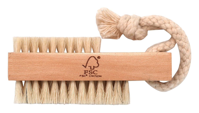 Basicare FSC legno Spazzola per unghie, 9cm, setole naturali Influx 2764