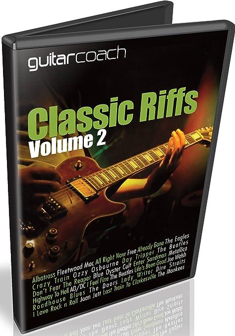 guitarcoach Classic Riffs Volumen 2: aprender y Master 14 – Riffs ...