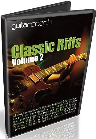 guitarcoach Classic Riffs Volumen 2: aprender y Master 14 - Riffs de guitarra popular detallada Step by Step Lecciones De Vídeo Con Full pistas de pestañas ...