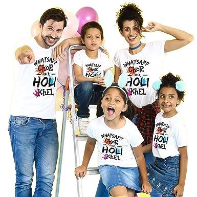 Bon Organik Cotton Whatsapp Chor Aur Holi Khel Combo Family