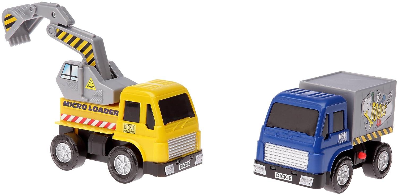 Smoby - Veicoli da Cantiere, Colore Giallo/Blu, D 3413005 Simba Toys Italia S.p.A.