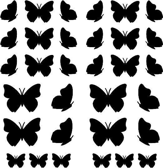 Sticker Butterfly vinyl Decal