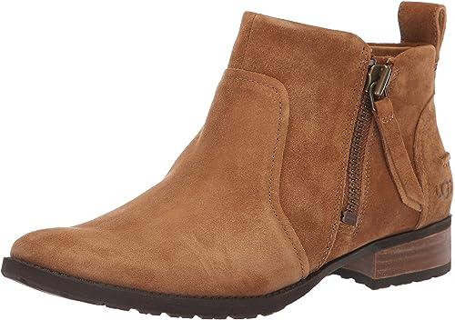 UGG Women's AUREO Ankle Boot, Chestnut