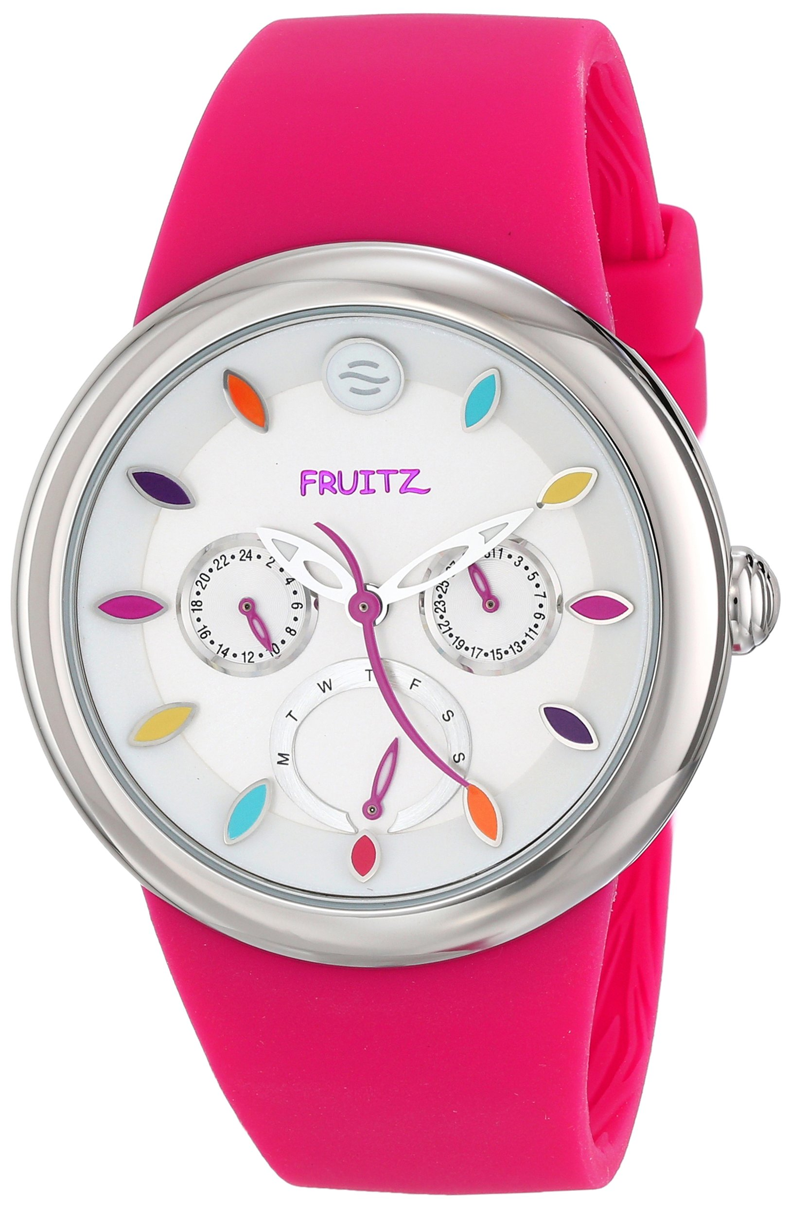 Fruitz by Philip Stein Unisex F43S-TF-HP Analog Display Japanese Quartz Pink Watch