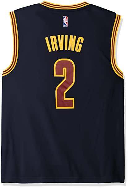competitive price 8c970 becba NBA Cleveland Cavaliers Kyrie Irving #2 Men's Replica Jersey, XX-Large, Navy