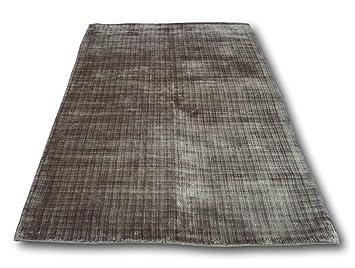 Amazon De Eleganter Schwerer Bodenteppich Teppich Grau Braun