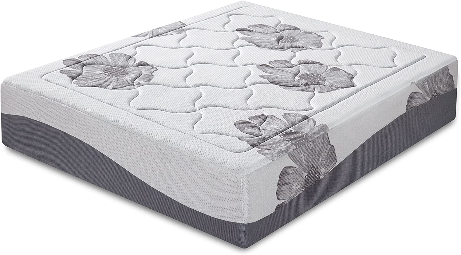 Olee Sleep 12 Inch I Gel Top Tencel Memory Foam Mattress 12FM01F