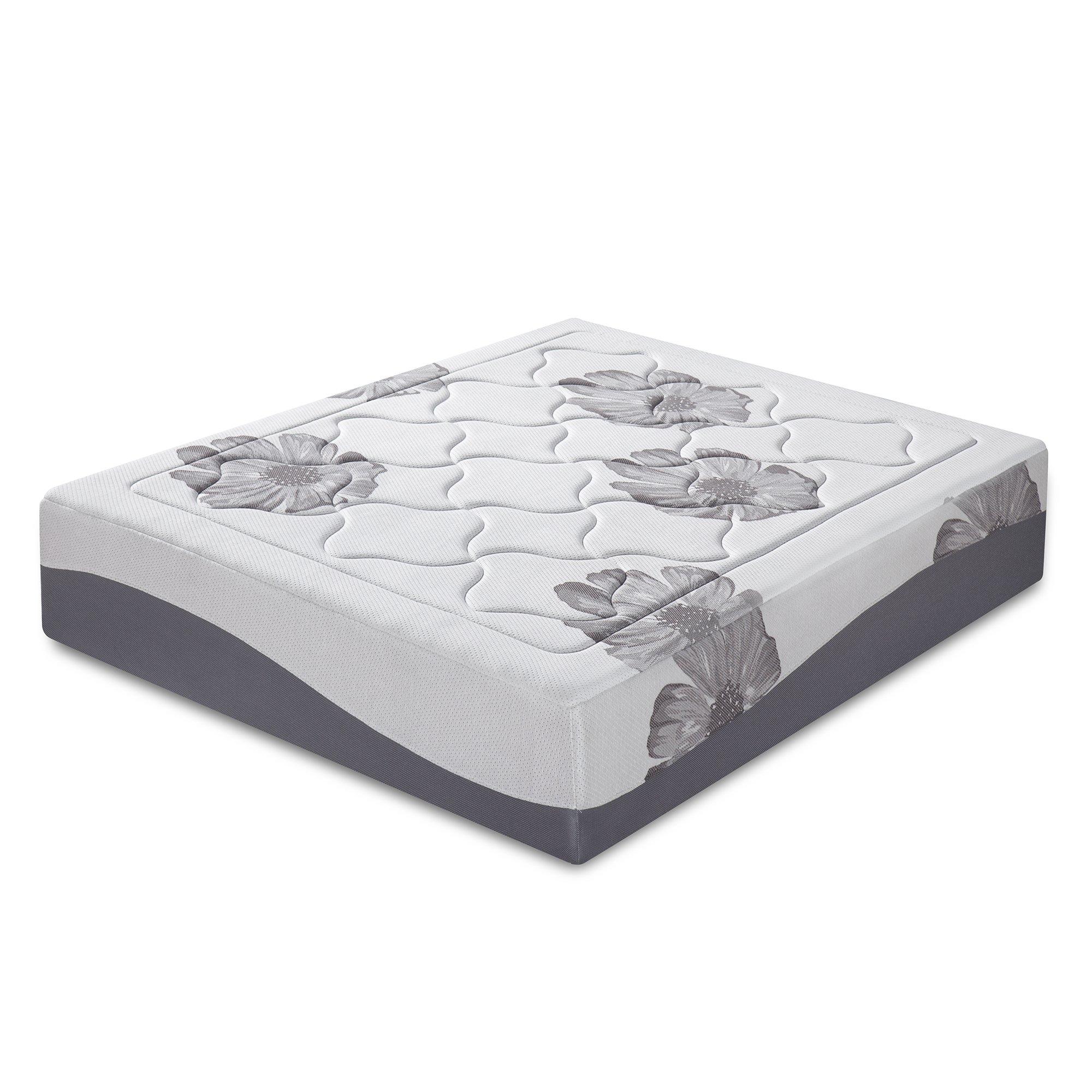 Olee Sleep 12 Inch I Gel Top Tencel Memory Foam Mattress by Olee Sleep