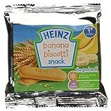 Heinz Banana Biscotti Snack, 7+ Months, 60g