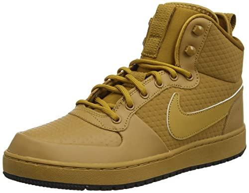 premium selection 0906f 069a7 Nike Ebernon Mid Winter, Sneaker a Collo Alto Uomo, Marrone Wheat-Black 700