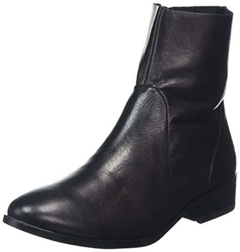 Aldo Elia, Botines para Mujer, Negro (Black Leather/97), 38 1/2 EU: Amazon.es: Zapatos y complementos