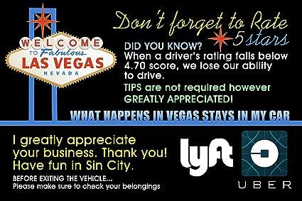 tips for lyft drivers in las vegas