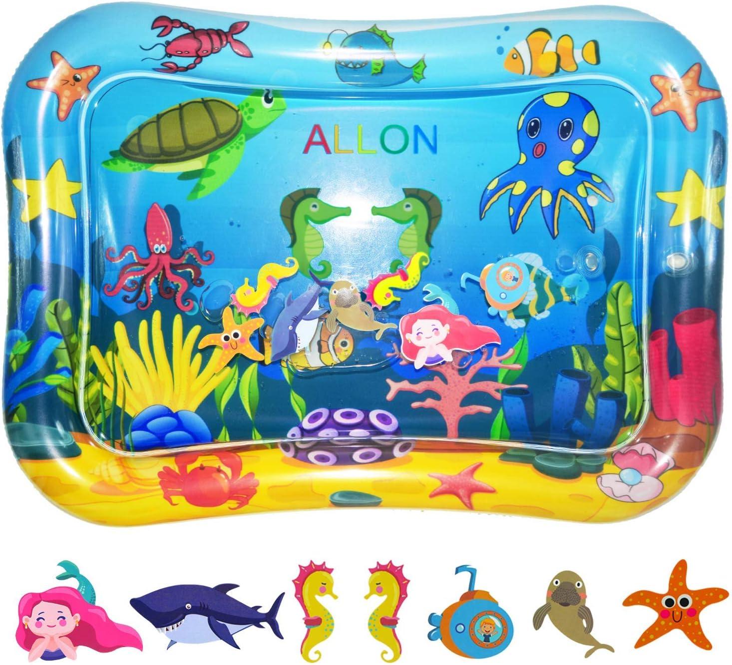 Amazon.com: Alfombrilla inflable para bebés de ALLON para ...