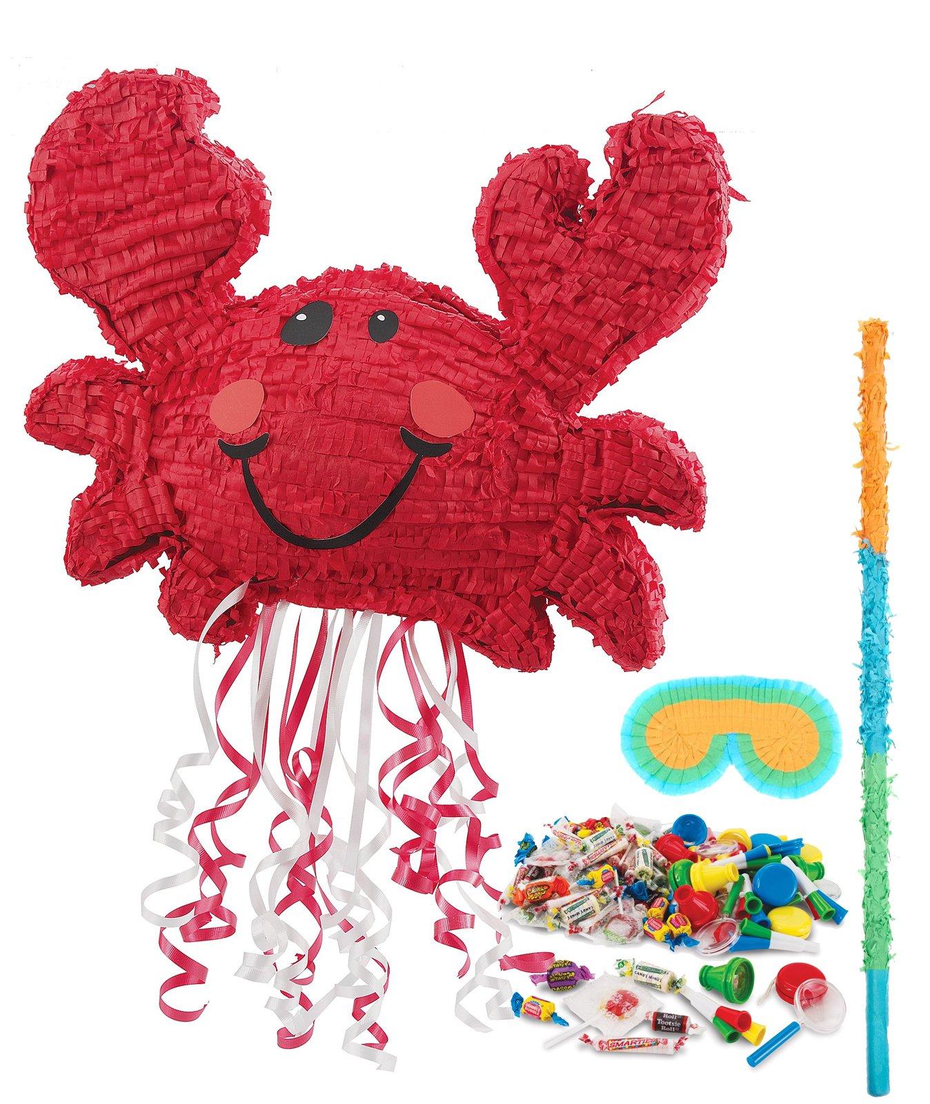 BirthdayExpress Nautical Party Supplies - Crab Pinata Kit
