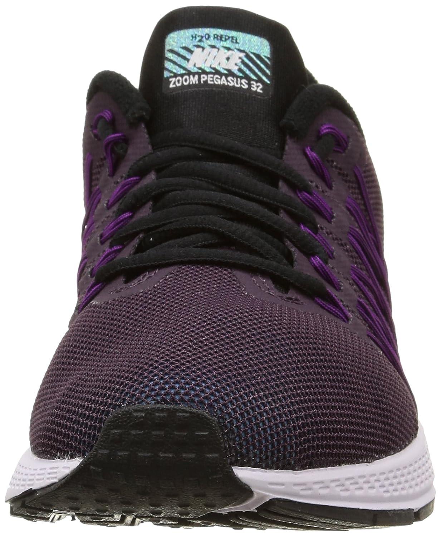 promo code b9d95 8aa65 Nike Air Zoom Pegasus 32 Flash, Women s Sports Shoes, Noble Purple Reflective  Silver Vivid Purple, 3.5 UK  Amazon.co.uk  Shoes   Bags