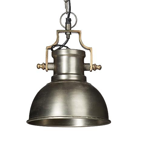 Relaxdays/pie para lámpara de techo metal mate, tamaño pequeño ...