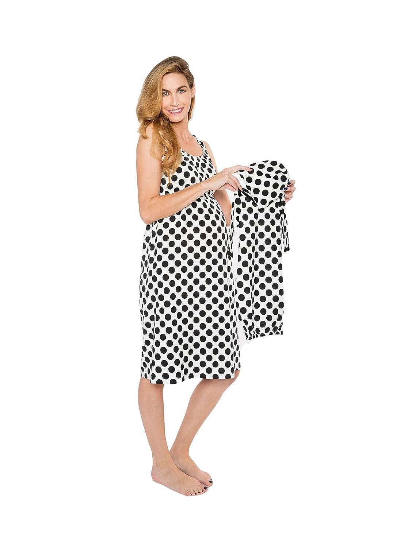 Baby Be Mine Maternity/Nursing Nightgown & Matching Baby Layette Set, Newborn, Nightdress, Baby Shower Gift