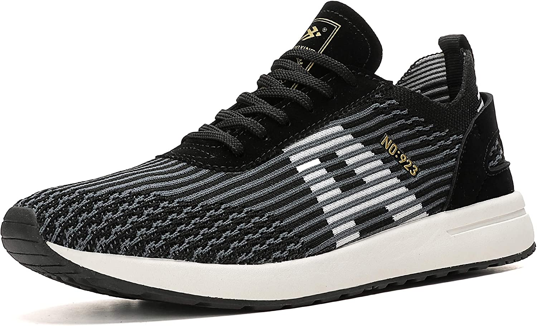 AX BOXING Zapatillas Hombres Mujer Deporte Running Sneakers Zapatos para Correr Gimnasio Deportivas Padel Transpirables Casual 40-46