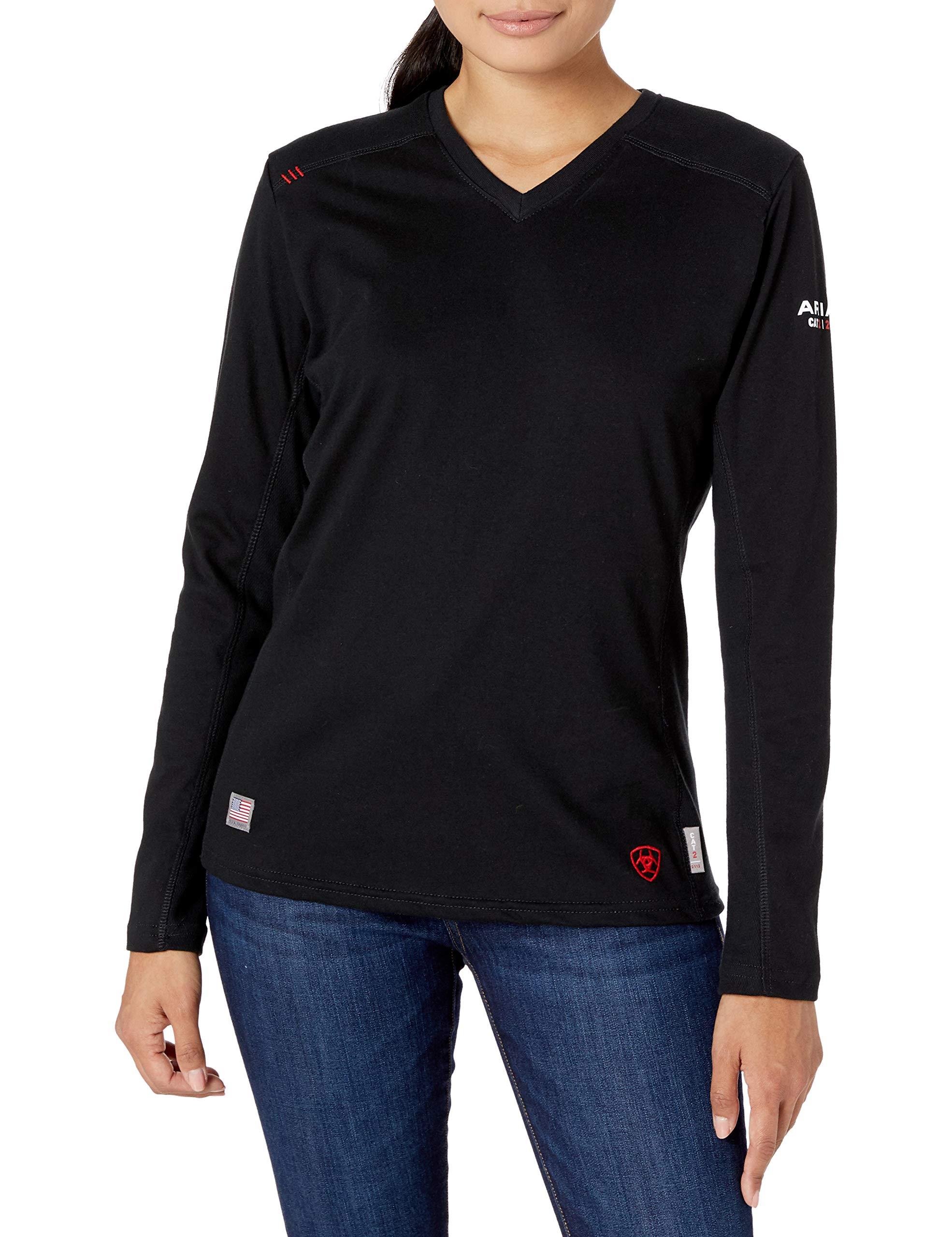Ariat Women's Flame Resistant Ac TopWork Utility Tee Shirt