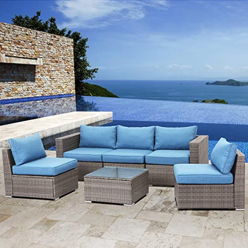 Solaste 6PCS Outdoor Sectional Sofa