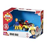 Fireman Sam Quad Bike with Sam Figure