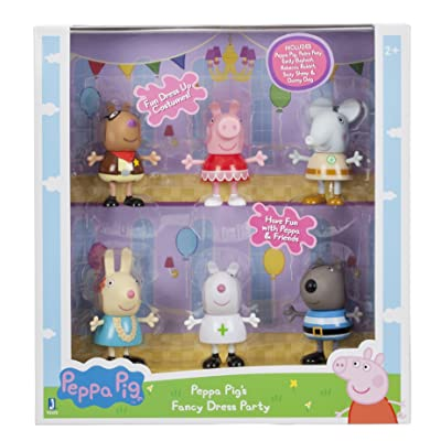 Peppa Pig 92602 Fancy Dress Party Toy Figure: Toys & Games