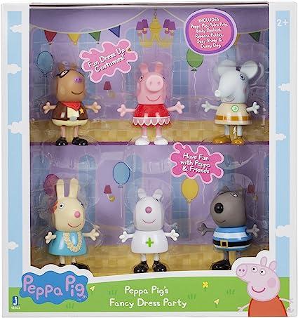Amazon.com: Figura de juguete de Peppa Pig con bonito ...