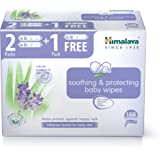 Himalaya Soothing & Protecting wipes, Pack of 3 (2+1 Free) X 56 Sheets, 168 Wipes