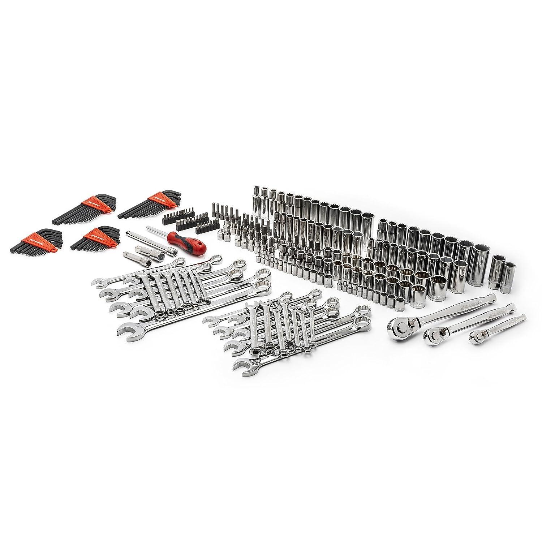 SAE /& Metric Crescent CTK230 230pc Master Mechanics Tool Set in Full Color Box