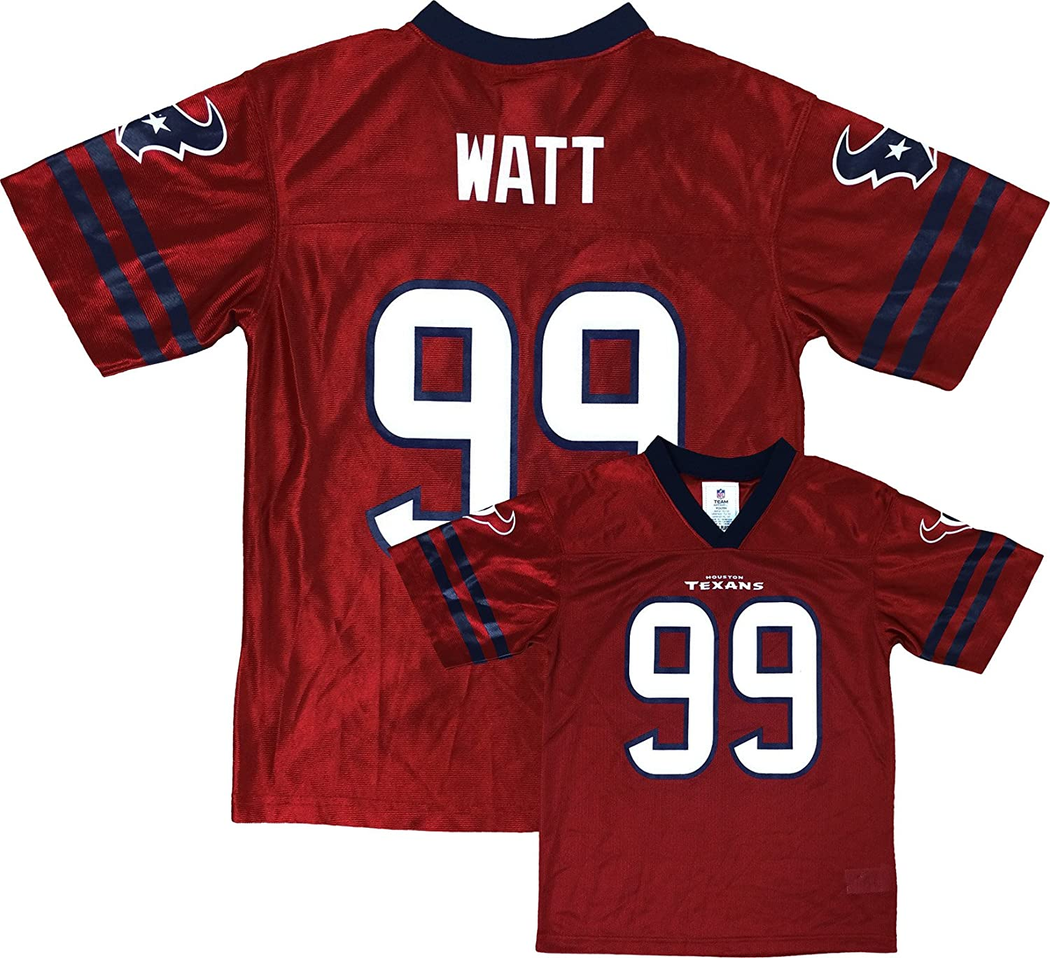 new product 43bfd 34298 Amazon.com: Outerstuff JJ Watt Houston Texans Red Alternate ...