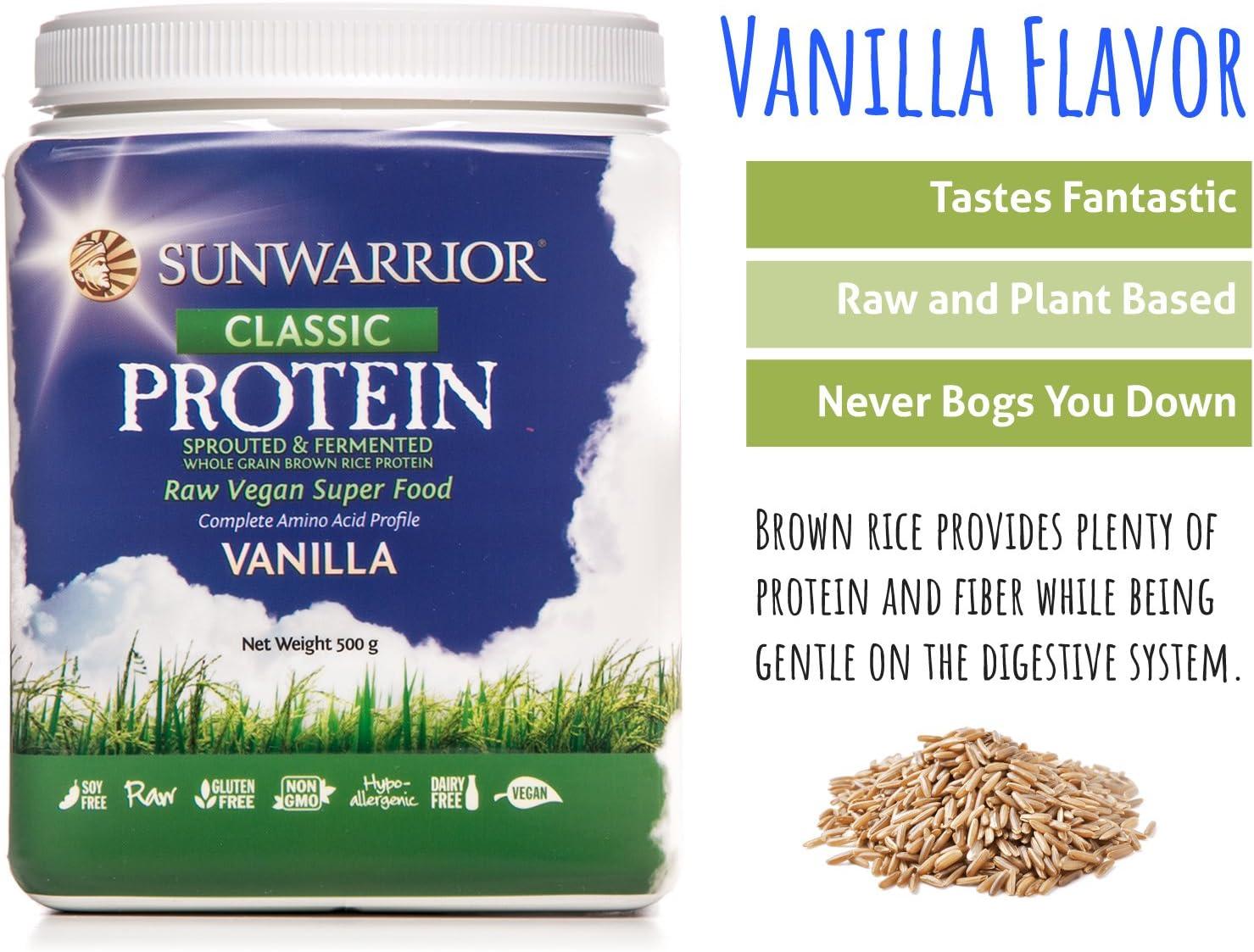 Sunwarrior - Proteínas Vegetales Classic Protein Vanilla 500g ...