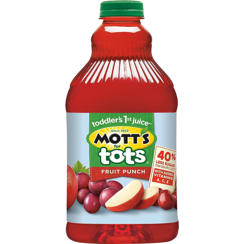 Mott's for Tots Fruit Punch, 64 fl oz bottles (Pack of 8)
