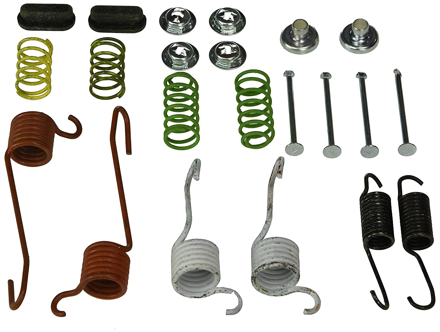 Carlson Quality Brake Parts H7150 Brake Combination Kit