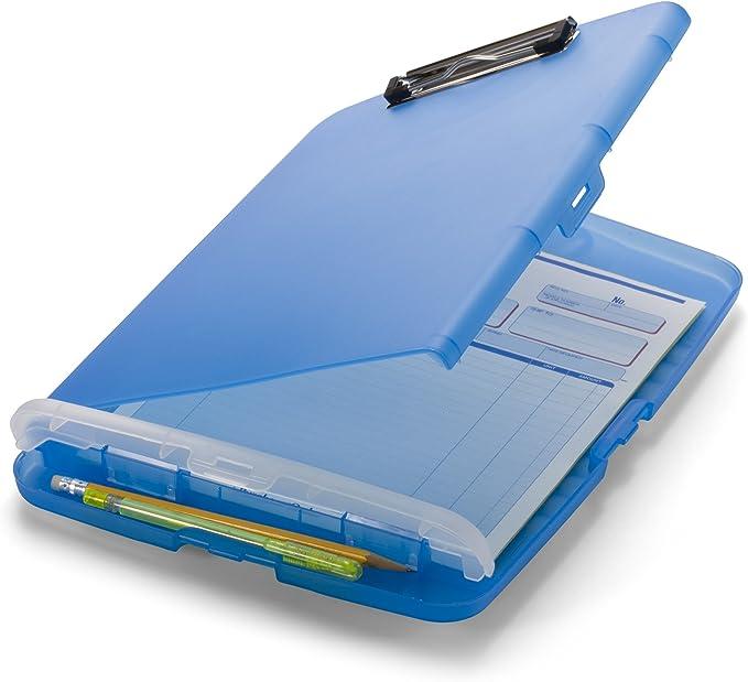 conferenza Cartella portadocumenti A4 Executive Business con portablocco e blocco ufficio blu porta carte per scuola